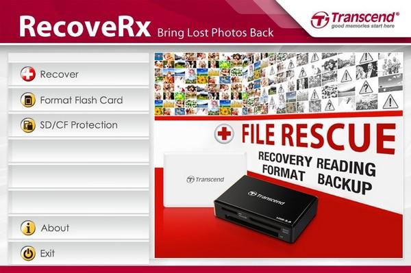 内存卡修复软件带数据恢复(RecoveRx Tool) V2.0 绿色版