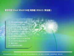 番茄花园Ghost Win10 (X64) 极速纯净版v201611(激活版)