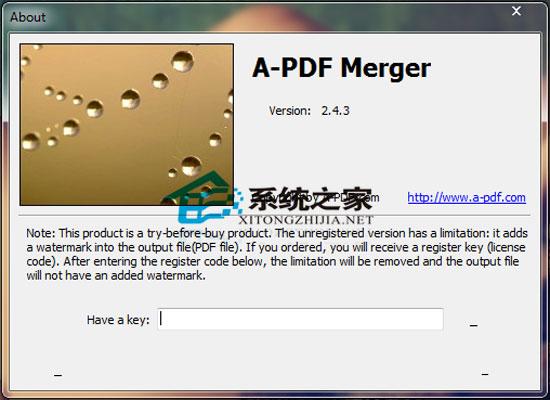 A-PDF Merger(PDF 文档合并) V2.4.3 绿色汉化版