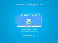 大番茄Ghost Win10 (64位) 好用专业版 V2019.01月(无需激活)